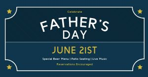Fathers Day Restaurant Facebook Post