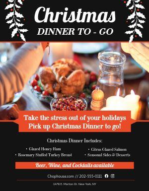 Christmas Dinner Sign