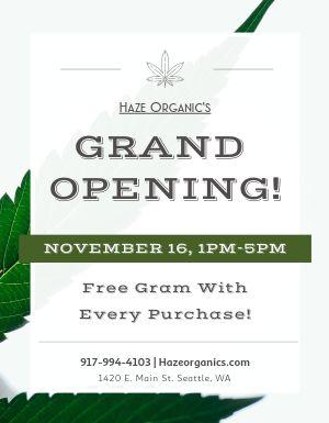Cannabis Store Announcement