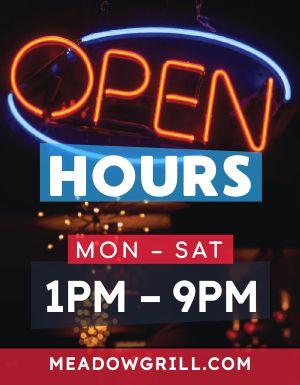 Neon Hours Flyer
