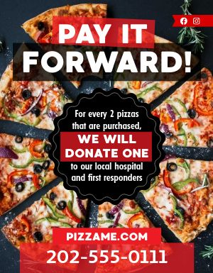 Pay It Forward Flyer