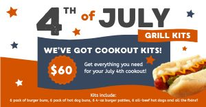 Holiday Grill Kits Facebook Post