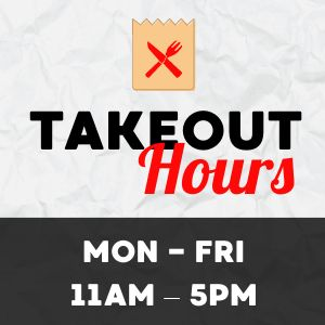 Takeout Hours Instagram Post
