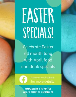 Easter Meal Flyer