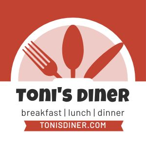 Breakfast Diner Sticker