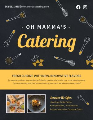 Catering Ad Flyer