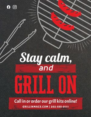 Grill Flyer
