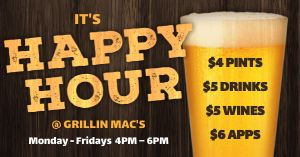 Happy Hour Draft Facebook Post
