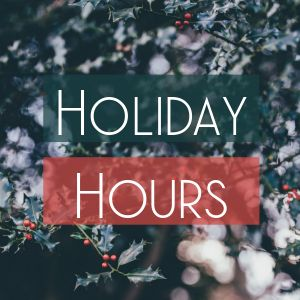 Holiday Hours Instagram Post