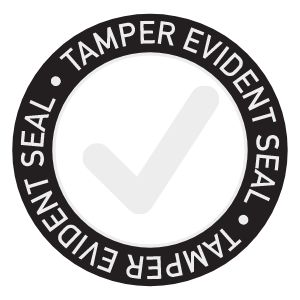 Tamper Evident Takeout Sticker