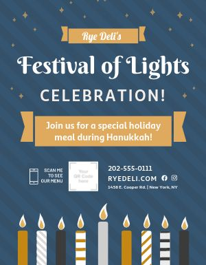 Hanukkah Celebration Announcement