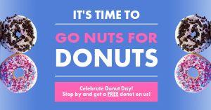Donuts Facebook Post