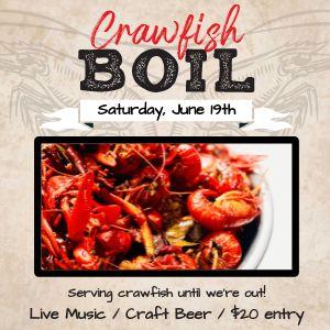 Crawfish Boil Instagram Post
