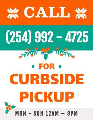 Curbside Pickup Handout