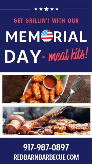 Memorial Day Takeout Facebook Story