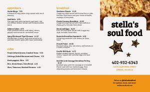 Soul Food Eatery Takeout Menu