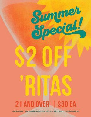 Summer Specials Flyer