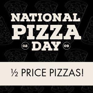 Pizza Day Instagram Post