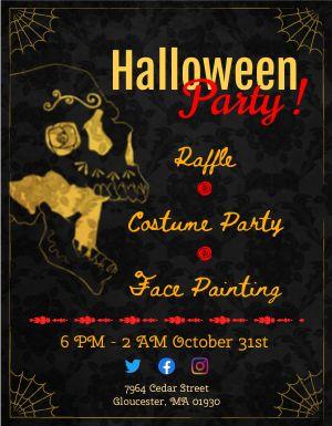 Halloween Spooky Flyer