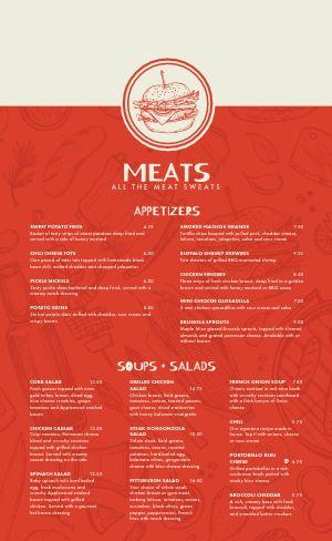 BBQ Meats Menu