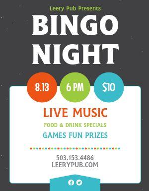 Pub Bingo Flyer