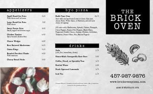 Pizza Hearth Takeout Menu