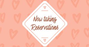 Valentines Reservations Facebook Post