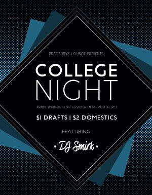 College Night Flyer