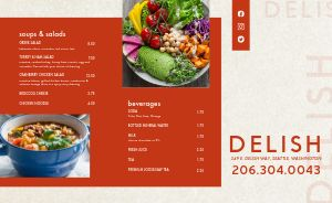 Deli Restaurant Takeout Menu