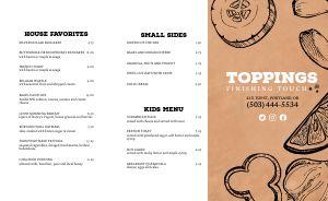 Cork Diner Takeout Menu