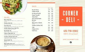 Deli Lunch Takeout Menu