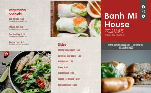 Banh Mi Vietnamese Takeout Menu