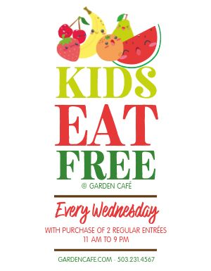 Kids Special Flyer
