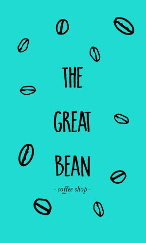 Coffee Barista Business Card