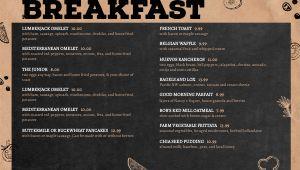 Cork Diner Digital Menu Board