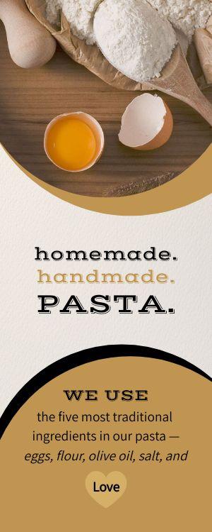 Italian Prep Half Page Menu