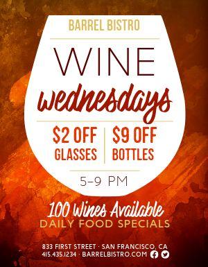 Wine Special Flyer