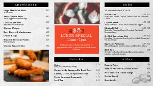 Pizza Hearth Digital Menu Board