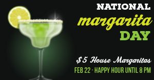 National Margarita Day Facebook Post