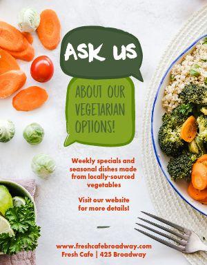 Vegetarian Flyer
