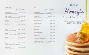 Pancake Stack Breakfast Takeout Menu