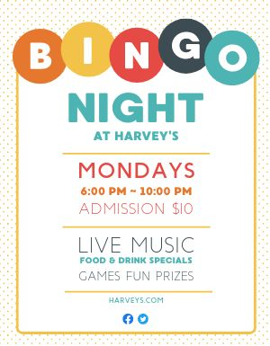 Bingo Game Flyer