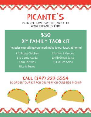 Taco Kit Flyer