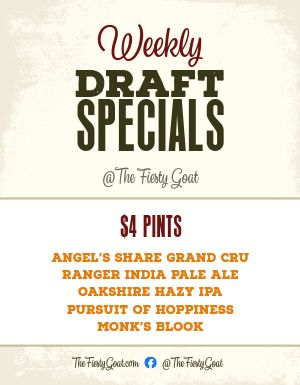 Draft Specials Flyer