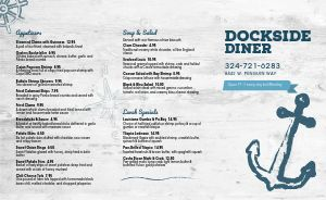 Dockside Seafood Takeout Menu
