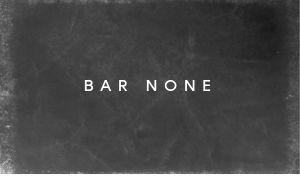 Modern Bar Business Card