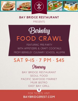 Local Food Crawl Flyer