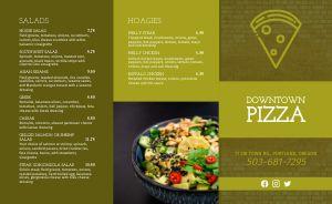Olive Pizza Takeout Menu