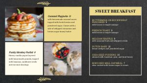 Diner Cuisine Digital Menu Board