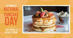 Pancake Special Facebook Post
